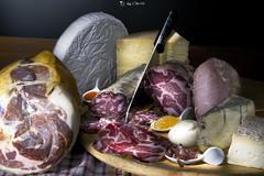 Voglia di merenda? (gigiochef) Tags: merenda cibo food salumi formaggi salame prosciutto gorgonzola