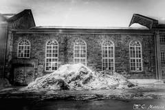 180221-81 Casernes de Québec (clamato39) Tags: villedequébec quebeccity ville city urban urbain provincedequébec québec canada noiretblanc blackandwhite bw bâtiment building neige snow hiver winter