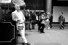 """Easter On Fifth Avenue."" (B.C. Lorio) Tags: easter nyc newyorkcity manhattan midtown fifthavenue streetphotography xphotographer xseries xe2s fujifilm fujifilmxus xf23mmf2rwr blackandwhite monochrome"