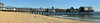 Old Orchard Beach - Pier Panorama (Drriss & Marrionn) Tags: travel roadtrip maine usa water sea sky pier oldorchardbeach beach sand seafront coast panorama shore seaside building buildings