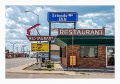 friends Inn (philippe*) Tags: restaurant tucumcari newmexico americana signs