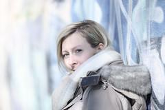 the one ... (David Kracht) Tags: girl woman style hair wall portrait beauty pretty