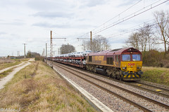 Class 66036 - Train 481771 Gevrey-Triage>Sibelin (Alan Jfr) Tags: class 66036 train 481771 gevreytriage sibelin 66 plm gevreychambertin voiture audi bmw diffus ecr euro cargo rail