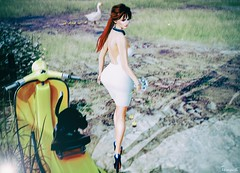 Belt Up, Betty! Walking away... (||Tempest Rosca Photography||) Tags: tempestrosca tempestroscaphotography secondlife sl secondlifeblog secondlifefashion slfashion slblog thaliaheckroth monso gos norderhey beltupbetty gosboutique