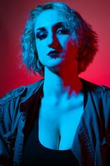 High Key Colour Gel Shoot (jamesburness) Tags: portrait studio gels gel colour alternative canon beauty fashion high key