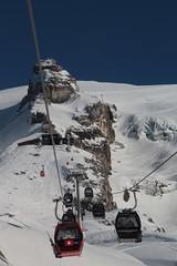 Gondelbahn Engelberg - Stand ( Baujahr 2015 - Schräge Länge 2`685 m - Höhendifferenz 781 m - Hersteller Seilbahnbau Garaventa - CWA - Luftseilbahn ) von Engelberg nach Stand am Titlis im Kanton Obwalden der Schweiz (chrchr_75) Tags: christoph hurni chrchr75 chrchr chriguhurni chriguhurnibluemailch märz 2018 schweiz suisse switzerland svizzera suissa swiss luftseilbahn cableway téléphérique funivia 索道 kabelbaan taubanen kolejka linowa teleférico sveitsi sviss スイス zwitserland sveits szwajcaria suíça suiza