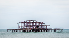The old pier (PhredKH) Tags: brighton canonphotography fredkh photosbyphredkh phredkh southcoast splendid canoneos7dmarkii ef70200mmf28lisiiusm outdoorphotography scenic iconic abandoned buildings architecture