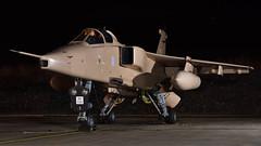 'Operation Granby' SEPECAT Jaguar GR.3 I XX725/KC-F I 238 Sqn RAF (MarkYoud) Tags: raf cosford nightshoot threshold aero sepecat jaguar gr3 granby op xx728 kfc xz117 es 238 sqn military fast jet