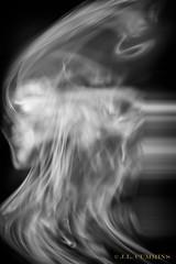 Wind (J.Lynn Photography) Tags: smoke abstract blackandwhite