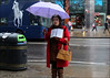 `2210 (roll the dice) Tags: london westminster w1 westend oxfordstreet fashion shops shopping wet rain weather streetphotography uk classic art urban england unaware unknown people natural god book religion sad mad bored umbrella bus travel transport colour disney horse rubbish portrait stranger candid shocked reaction