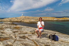 Marstrand/Sverige 2013 (karlheinz klingbeil) Tags: lighthouse leuchtturm sverige ocean northsea schweden wasser people porträt menschen water marstrand nordsee meer
