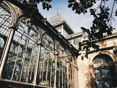 Madrid Retiro park Crystal palace (irinat2) Tags: madrid spain retiro park architecture window grystal palace sunlight travel autumn color