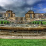 Paris France  -  Fontaine du Trocadéro - Landmark - Historic thumbnail