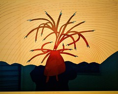 L'avénus de Milo (1983) - Jean-Michel Folon (1934-2005) (pedrosimoes7) Tags: jeanmichelfolon centrodeartemanueldebrito camb paláciodosanjos algés portugal artgalleryandmuseums ✩ecoledesbeauxarts✩