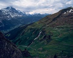 Milibachfall waterfall (JaZ99wro) Tags: exif4film grindelwald waterfall provia100f e6 opticfilm120 tetenal3bathkit switzerland f0344 pentax67ii szwajcaria swiss film analog