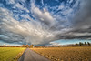 Late afternoon sky (++sepp++) Tags: landscape landschaft landschaftsfotografie graben bayern deutschland de bavaria germany wolken clouds nachmittag afternoon feld field bäume trees 14mm