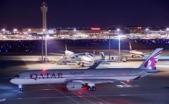 エアバスA350-900 Airbus A350-900 (ELCAN KE-7A) Tags: 日本 japan 東京 tokyo 羽田 haneda 国際 空港 international airport 飛行機 航空機 airplane airline 国際線 ターミナル terminal カタール 航空 qatar airways qr qtr エアバス airbus a350 350 900 ペンタックス pentax k3ⅱ 2018
