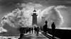 Nature fury (Artur Tomaz Photography) Tags: clouds douro people blackandwhite blow explosion foz fury light lighthouse monochrome nature ocean oporto sea water shillouettes waves