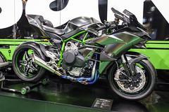 Kawasaki Ninja H2R (The Adventurous Eye) Tags: kawasaki ninja h2r motorcycle exhibition fair motosalon motosalonbrno motosalonbrno2018