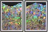 Foil on Paper x 2 (Will S.) Tags: art holographic paper holograms silver rainbow iridescence mypics ottawa ontario canada nationalgalleryofcanada