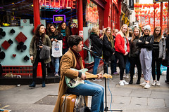 Street talent (rfabregat) Tags: london travel travelphotography uk england gb londres nikon nikond750 d750 spring nikkor music musician street streetphotography guitar guitarrist chinatown wardour