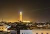 Hassan II Mosque (Laszlo Horvath.) Tags: hassan ii mosque marocco morocco marokko laser lazer islam casablanca light night mella beam ontheroof nikond7100 nikon50mmf18g