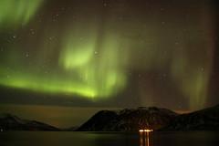 Kvaløya Aurora 11th March 2018 (Martin Third) Tags: norway scandinavia arctic night nightshot longexposure aurora auroraborealis northernlights kvaløya grøtfjord fjord coast coastline island troms