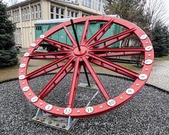 Kraków-AGH-sundial (marek&anna) Tags: polska poland kraków cracow academyofscienceandtechnology clock sundial