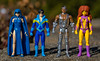 Teen Titans (atari_warlord) Tags: 375 actionfigure cyborg dccomics dcuniverse funko nightwing raven reaction starfire teentitans thenewteentitans