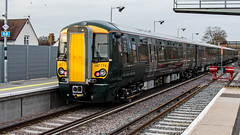 387174 (JOHN BRACE) Tags: 2016 bombardier derby built class 387 electrostar emu 387174 seen redhill station test unbranded gwr livery
