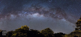 Milky way from CR