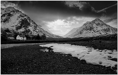 Beside River Coupall by Hugh Stanton - Scotland UK