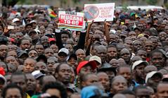 Zimbabwe tells Robert Mugabe to go! Solidarity March, 18 Nov 2017 (Zimbabwean-eyes) Tags: harare zimbabwe bulawayo solidarity march mugabe coup politics africa