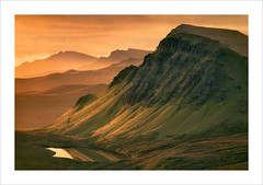 Slip (Nigel Morton) Tags: skye isleofskye dawn hills landslip geology ancient landscape scotland sunrise nigelmorton golden light reflection quirang kerrang