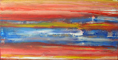 stormy day on the beach (Peter Wachtmeister) Tags: artinformel art mysticart modernart popart artbrut phantasticart minimalart abstract abstrakt acrylicpaint surrealismus surrealism hanspeterwachtmeister