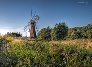 Drainage mill at St Olaves