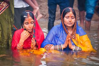 पूजा ...Pūjā ..Celebration Bodhgaya..INDIA
