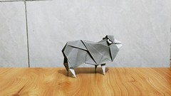 Sheep (guangxu233) Tags: sheep hideokomatsu paperart paper paperfolding art origami origamiart 折纸 手作り 折り紙作品 折り紙