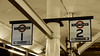 Platforms 1&2 (Travis Pictures) Tags: london aldgate londonunderground tube thetube railway rail transport publictransport transportforlondon londontransport eastlondon eastend towerhamlets train city cityscape capitalsoftheworld capitalcity metro metropolitanline circleline red white blue station railwaystation sstock aldgatestation zone1 nikon d5200 photoshop roundel sign blackandwhite monochrome selectivecolour