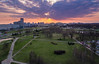 Minsk Sunset (free3yourmind) Tags: minsk sunset nemiga panoramic colorful drone quadcopter xiaomi mi park clouds cloudy city минск беларусь belarus
