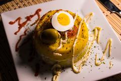 Peruvian layered potato dish. DSC_2716 (Art Director & Photographer) Tags: peruvian layered potato dish causarellena causa food comidaperuana