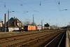 6-4-2018 - 145 CL002 242 001 Zossen (berlinger) Tags: zossen brandenburg deutschland railways railroad locomotive eisenbahn güterzug locomove diesellok ludmilla br242 br145