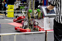 IMG_7705 (holytrinityrobotics) Tags: oakville omgrobots light event coverage robot robotics hersheyscentre gold mechanical electrical pneumatics onchampsfrc first firstcanada frc ontario tronic titans