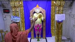 Ghanshyam Maharaj Mangla Darshan on Sat 07 Apr 2018 (bhujmandir) Tags: ghanshyam maharaj swaminarayan dev hari bhagvan bhagwan bhuj mandir temple daily darshan swami narayan mangla