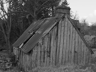 Abandoned Farm, Rothiemurchus, Estate, Above Aviemore