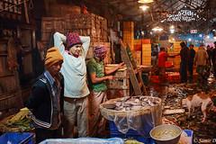 the fish market (Samir D) Tags: canon colors calcutta northkolkata markiii market fish sealdah inside samird 2018 eos 35mm14 35mm men dog cat people streetphotography candid