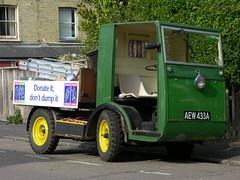 AEW 433A (Nivek.Old.Gold) Tags: 1955 morrison electricar milkfloat pickup girton cambridge recycling