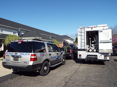 """""""Inappropriate Display of Registration Plates"""" (EX22218 - ON/OFF) Tags: swat bombsquad k9 drill homelandsecurity original napolitano janet louisville kentucky usa mail package"""