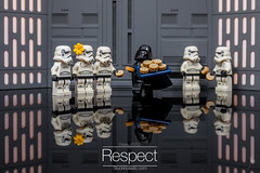 Respect (Ballou34) Tags: 2018 7dmark2 7dmarkii 7d2 7dii afol ballou34 canon canon7dmarkii canon7dii eos eos7dmarkii eos7d2 eos7dii flickr lego legographer legography minifigures photography stuckinplastic toy toyphotography toys puteaux îledefrance france fr 7d mark 2 ii eos7d stuck plastic 2017 in sipgoes52 starwars star wars sw stormtrooper stormtroopers darth vader respect cookies chef