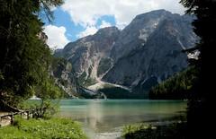 Lake Braies (annalisabianchetti) Tags: lake lago mountains montagne dolomites dolomiti water travel paesaggio landscape trentinoaltoadige